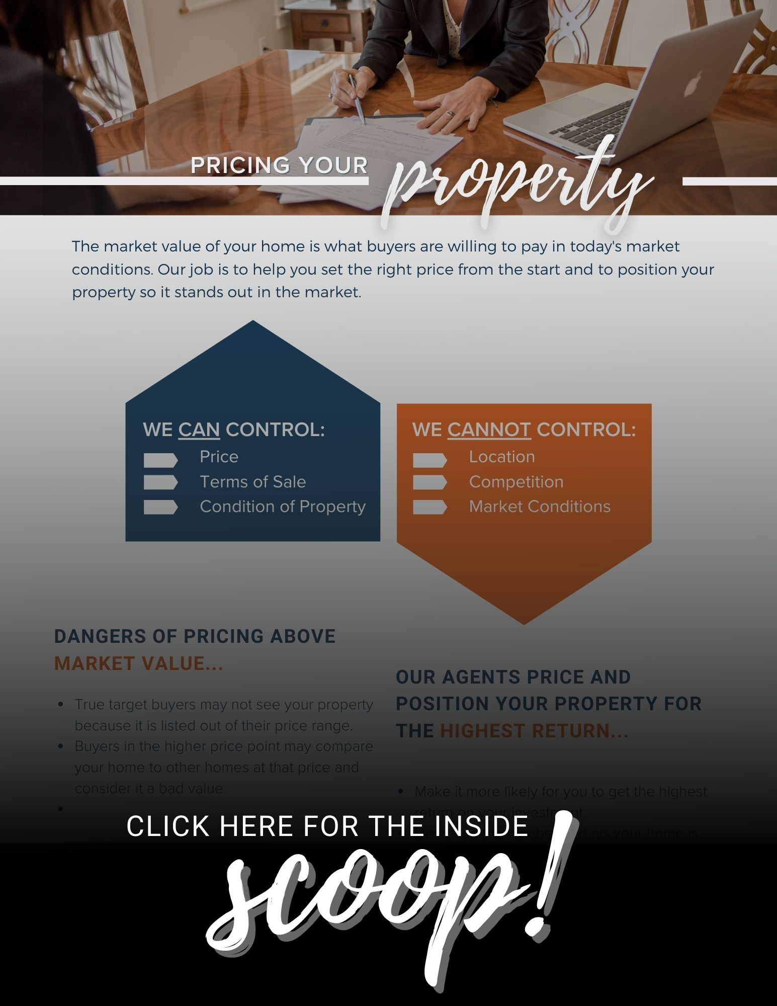 Seller, Seller Resources, Pricing your property