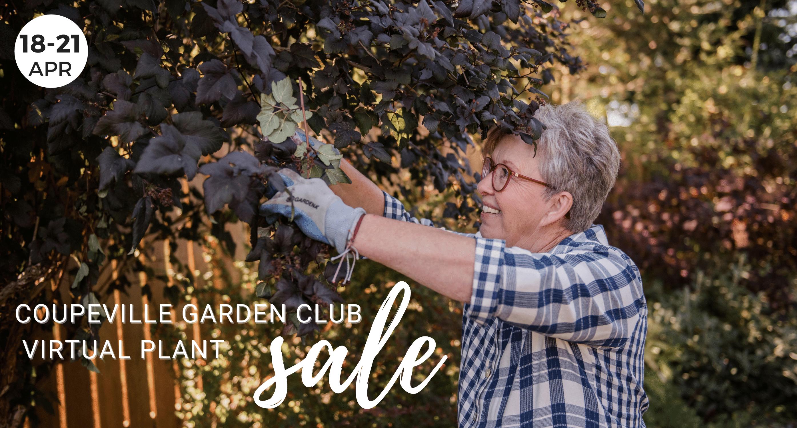 Coupeville Garden Club Virtual Plant Sale