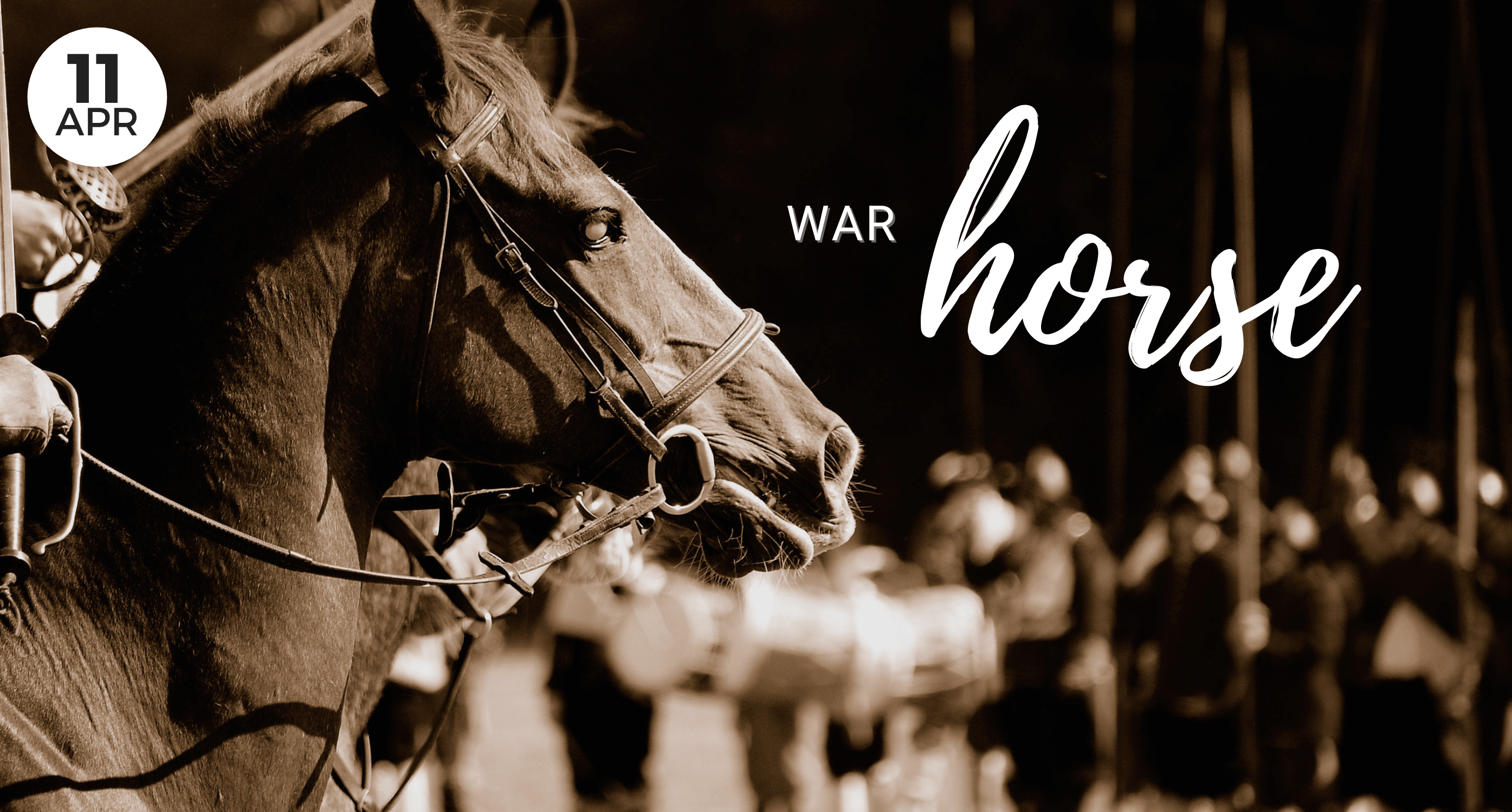 April Event, War Horse, Whidbey Island, local, play, event