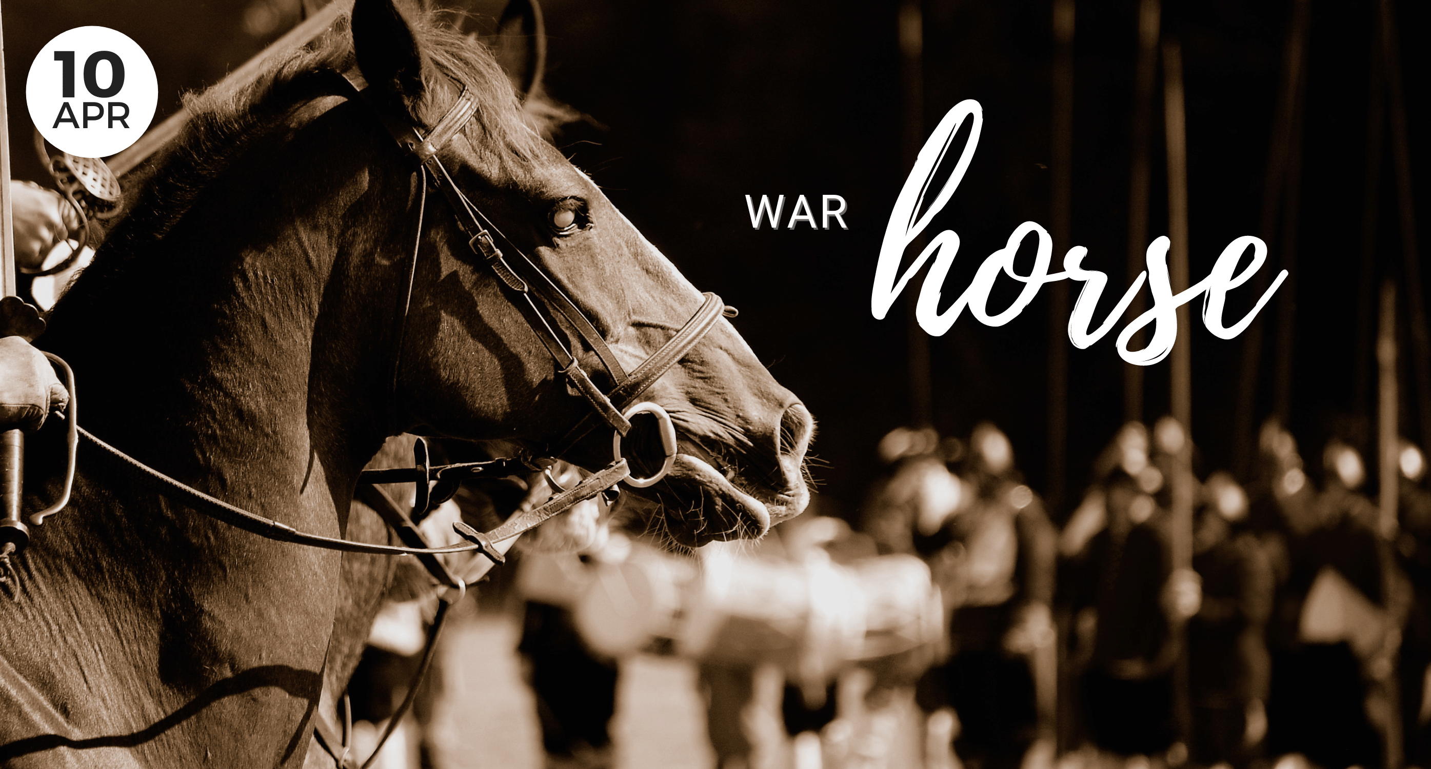 April, War Horse, Local Event, Whidbey Island