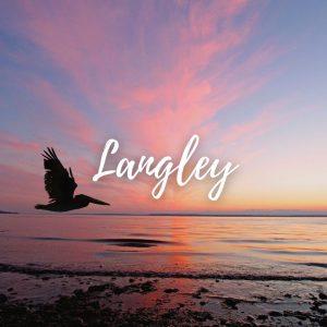 welcome home, Langley, Widbey Island