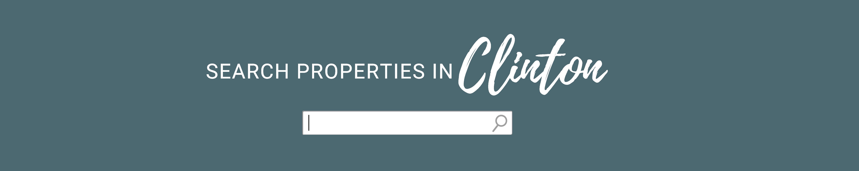 Search Properties in Clinton