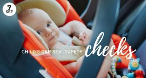 Free Child's Car Seat Safety Checks