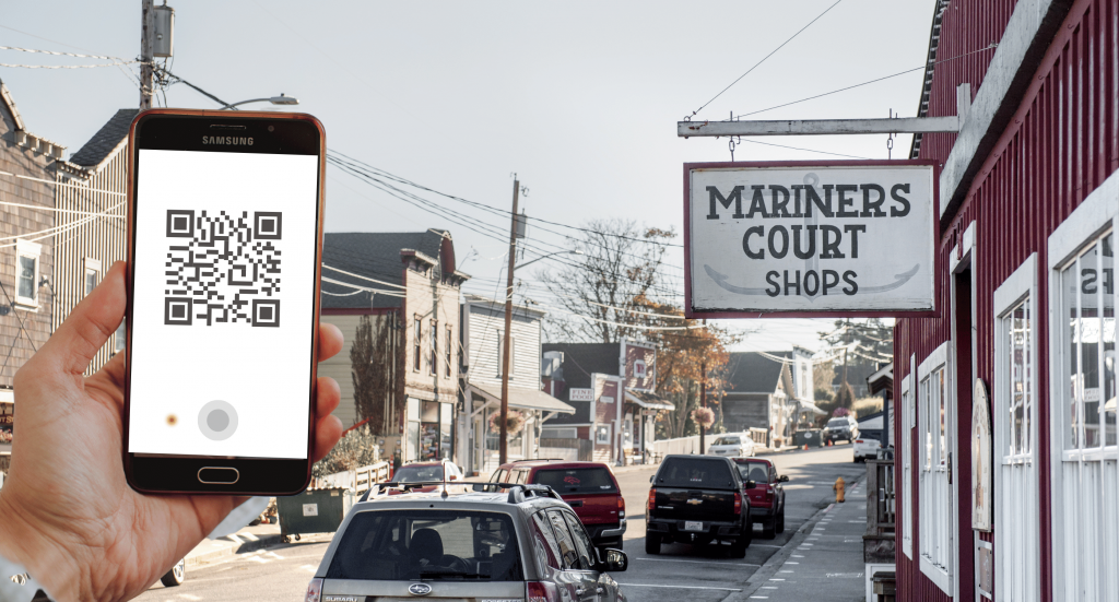 QR Codes, History, Coupeville Whidbey Island