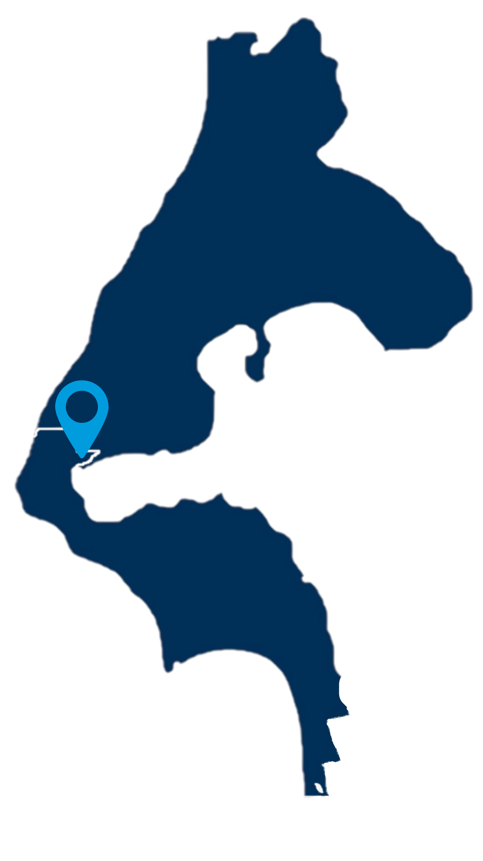 san de fuca map, Whidbey Island