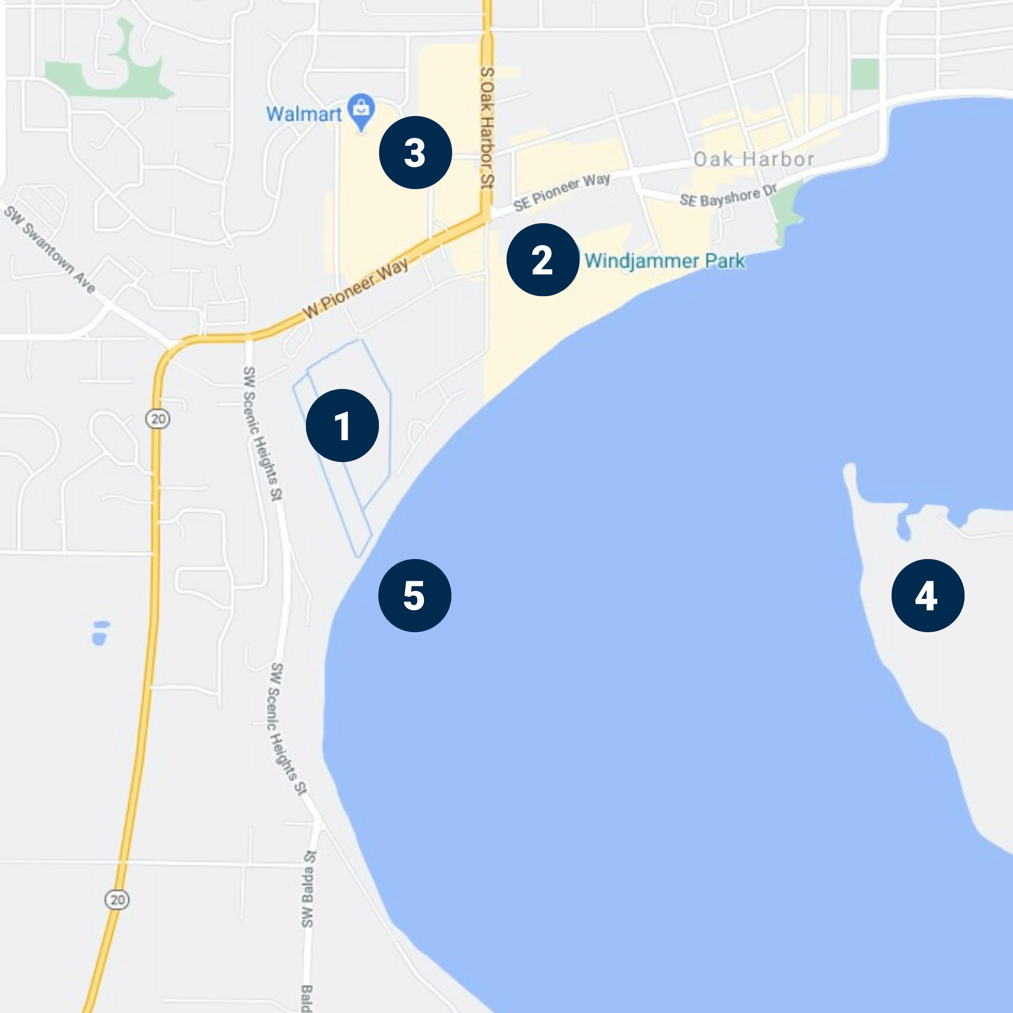Scenic Height Community Map