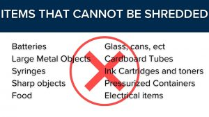 Importance of shredding, what should not be shred, Windermere Real estate