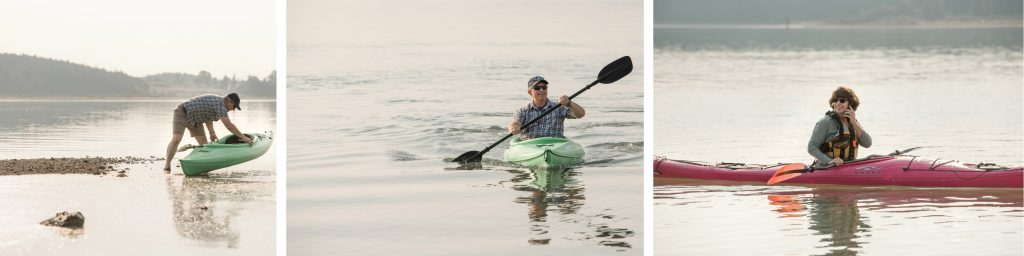 What is your go-to for managing stress since the pandemic? Kayaks
