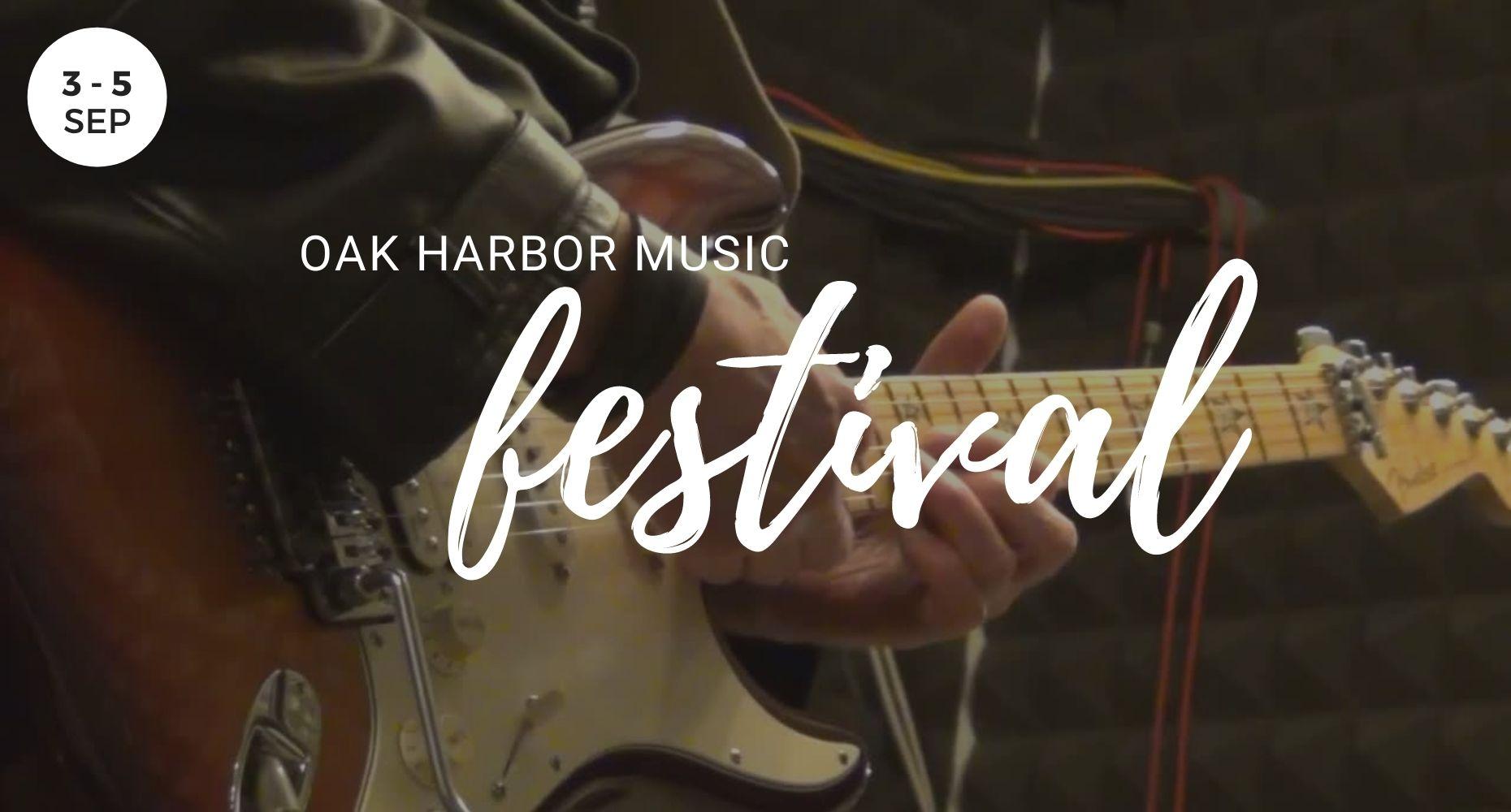 Oak Harbor Music Festival, Events, Whidbey Island, Washington