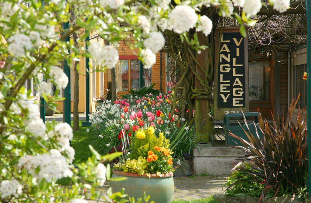 Langley Village, Whidbey Island, Washington