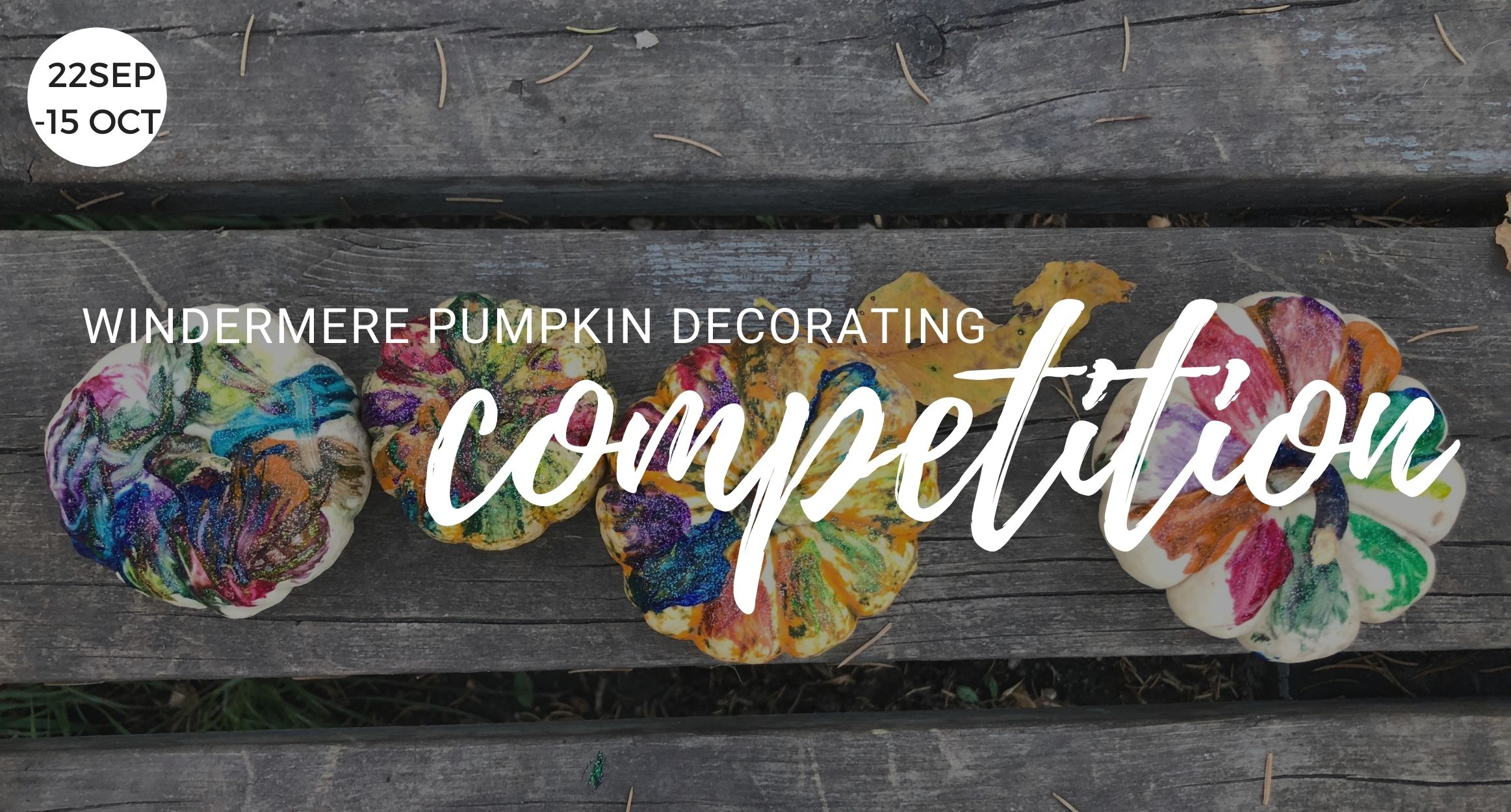 Windermere Pumpkin Decorating Competition