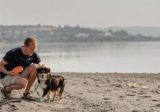 Benefits of Having Pets - Don and dog Lucy